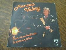 45 tours francois valery stars le samedi soir