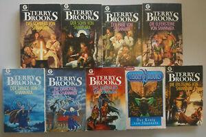 Terry Brooks: Das Schwert von Shannara - Band 1-9 (komplett)