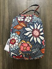 VERA BRADLEY LUNCH TOTE LUNCH BOX TROPICAL EVENING - New With Tags