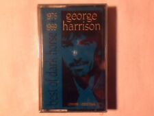 GEORGE HARRISON Best of Dark Horse 1976 1989 mc cassette k7 SINGAPORE BEATLES
