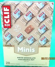 Clif Bar Minis - White Chocolate Macadamia Nut -0.99 Ounce Energy Bars-20 Count
