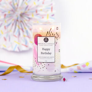 **NEW** Imperial Candle - Happy Birthday with hidden jewellery