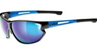Uvex Sportstyle 810 Sunglasses Black/Blue