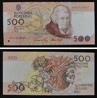 Portugal 500 Escudos Paper Money 1992 UNC