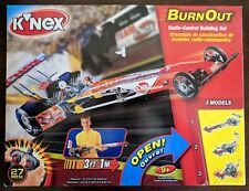 KNEX RC Burn Out Radio Control Building Set (5128) 3 Models NEW IN BOX