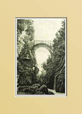 AOSTA:CHATILLON - Ponte romano. In Passepartout 1889