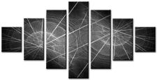 Gruppo 7 Dimensione totale 160x90cm Grande Tela Digitale Stampa Wall Art SILKEN