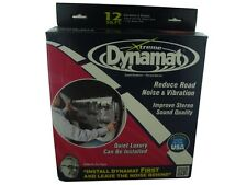 """New Dynamat 10435 Xtreme Door Sound Dampening Kit with Four 12"""" x 36"""" Sheets"""