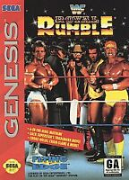 WWF Royal Rumble (Sega Genesis, 1993)