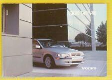 S40 V40 02 2002 Volvo Owners Owner's Manual Sedan