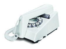 Trim Telephone - WHITE classic corded 60's design