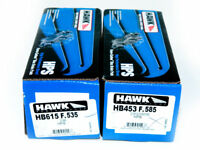 Hawk Performance HPS Front & Rear Brake Pads Mitsubishi Evolution EVO X 10 NEW