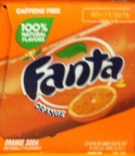 Fanta Caffeine Free Orange Soda 12 Pack