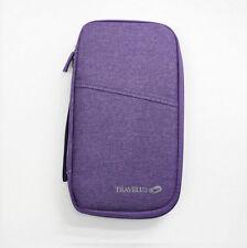 Purple Travelus Handy V.4 - Organizer Wallet Passport Cover Boarding Pass Holder