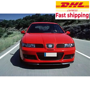 SEAT LEON MK1 1M CUPRA R FRONT SPOILER BUMPER LIP Euro Spoiler Lip Universal
