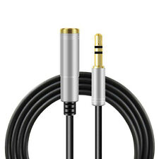 Audio Stereo Kopfhörer Verlängerungskabel 3m 3,5mm Klinke Stecker > Buchse Silbe
