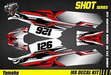 Kit Déco pour / Decal Kit for Jet SkiYamaha Super Jet - Shot Red