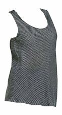 Flax  Shark Linen Windowpane Bias Tank Top NWT  size  1X / 1G