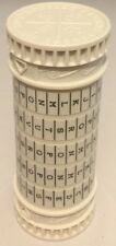 White Cryptex - 5 Digits - Geocache with Free Waterproof Log