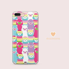 Clear TPU Plastic Case Cover for Apple iPhone Devices - ALPACA SQUAD
