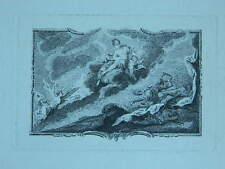 XIXe ancienne gravure miniature Mythologie Grec