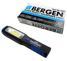 BERGEN COB INSPECTION LIGHT & LED TORCH Super Bright Rechargeable Magbender Body