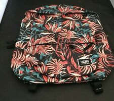 Vans Realm Classic Backpack - Black California Floral New With Tags