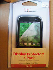 Factory Sealed 2 Packs with 3 Screen Protectors Fits Palm Pixi Plus By Verizon