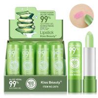 Women's Lipstick Lip Stick Aloe Vera Moisturizing Color Changing Lipstick UK cvc