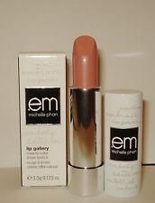 em Michelle Phan Lip Gallery Creamy Color Classic Lipstick ~ Cabana Beige  NIB