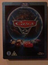 CARS 2 - Disney / Pixar - UK BLU-RAY STEELBOOK - dented - (disc vgc)