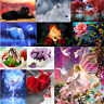 5D DIY Moon Owl Snow Wolf Diamond Painting Embroidery Cross Stitch Home Crafts