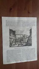 1839 L'Album Belle Arti: Le Cave del Marmo nell'isola di Portland