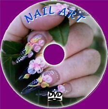 UNIQUE BEAUTIFUL NAILS LIKE PRO TRAINING VIDEO DVD ACRYLICS STEP / STEP NAIL ART