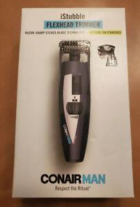 Conair iStubble Flexhead Trimmer - Black-Brand New In Box.