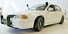 2002 Chevrolet Impala Unmarked Police Car 1:24 Diecast chevy model desk display