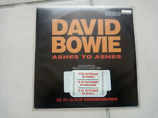 DAVID BOWIE Ashes to ashes / starman 45T SPAIN PROMO RARE