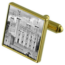 Tower Of London Dungeon Gold-Tone Cufflinks In Pouch