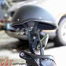 Novelty Helmet Motorcycle Open Face Helmet Matte Black Motorcycle Skull Cap