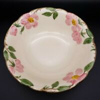 "9"" Franciscan DESERT ROSE Round Vegetable Bowl Made in USA"