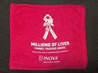2018 Washington Redskins Breast Cancer Awareness Pink Rally Towel SGA