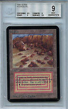 MTG Alpha Plateau Dual Land BGS 9.0 (9) Mint Magic Card WOTC 7578