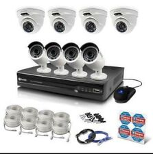 Swann NVR16-7400 16 Ch 4MP NVR 2TB 4 x NHD-818 + 4 x NHD-819 Cameras RRP $2999