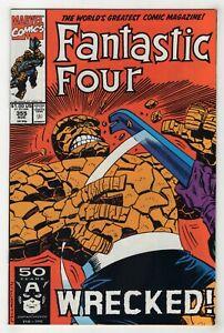 Fantastic Four #355 (Aug 1991, Marvel) [Wrecker] Danny Fingeroth, Al Milgrom