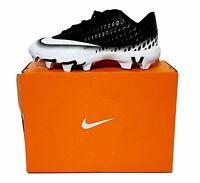 Nike Baseball Cleats Vapor Ultrafly 2 Keystone Black White Kids Youth sz 5.5-6Y