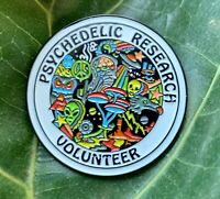 Psychedelic Research Volunteer Pin