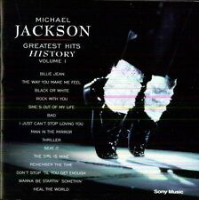 Michael Jackson - Vol. 1-Greatest Hits-History [New CD] Portugal - Import