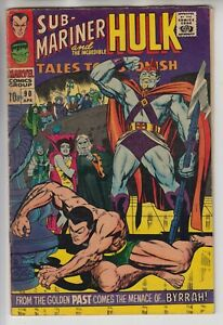 TALES TO ASTONISH # 90  GD+ 2.5  KEY 1ST APP ABOMINATION  PENCE  1967