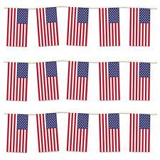 4th di Luglio Giorno dell'Indipendenza Party Pack. 40m di bandiera USA Bunting