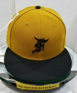 Detroit Tigers~MLB~New Era~59FIFTY~Pro Model~Fear Of God~Fifth Collection~Gold